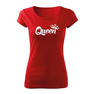 WARAGOD női rövid ujjú trikó queen, piros 150g/m2 kép