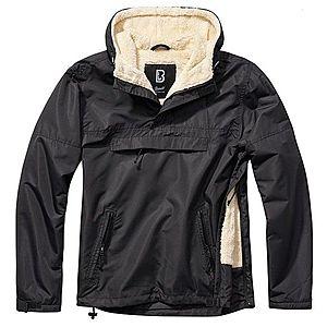 Brandit Windbreaker Sherpa dzseki, fekete kép