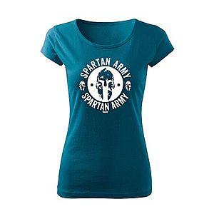 WARAGOD női póló Archelaos, petrol blue 150g/m2 kép
