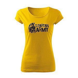 WARAGOD női póló Aristón, sárga 150g/m2 kép