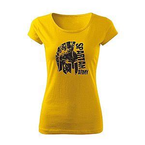WARAGOD női póló León, sárga 150g/m2 kép