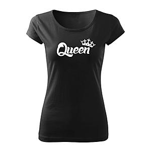 WARAGOD női rövid ujjú trikó queen, fekete 150g/m2 kép