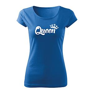 WARAGOD női rövid ujjú trikó queen, kék 150g/m2 kép