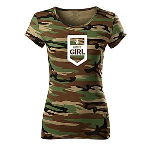 WARAGOD női póló army girl, terepmintás 150g/m2 kép