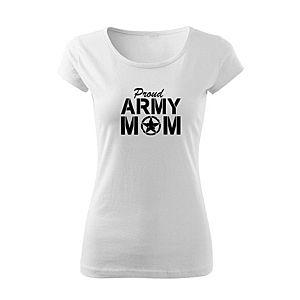 WARAGOD női póló army mom, fehér 150g/m2 kép