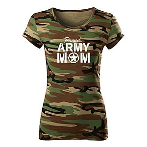 WARAGOD női póló army mom, terepmintás 150g/m2 kép