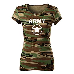 WARAGOD női póló army star, terepmintás 150g/m2 kép