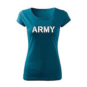 WARAGOD női póló army, petrol blue 150g/m2 kép