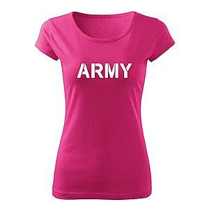 WARAGOD női póló army, rózsaszín 150g/m2 kép