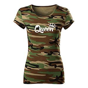 WARAGOD női póló queen, terepmintás 150g/m2 kép