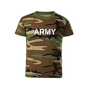 WARAGOD Gyerek rövid ujjú póló Army, terepmintás kép