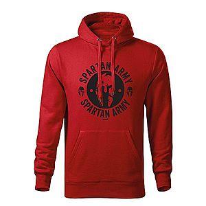 WARAGOD kapucnis férfi pulóver Archelaos, piros 320g / m2 kép