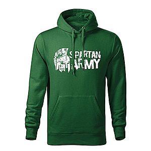 WARAGOD kapucnis férfi pulóver Aristón, zöld 320g / m2 kép