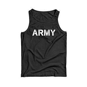 Waragod férfi ujjatlan trikó ARMY, fekete 160g/m2 kép