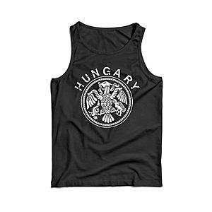 Waragod férfi ujjatlan trikó magyar, fekete 160g/m2 kép