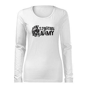 Spartan Army motívumú női hosszúujjú pólók kép