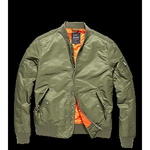 Vintage Industries Bomber Welder átmeneti kabát, light olive kép