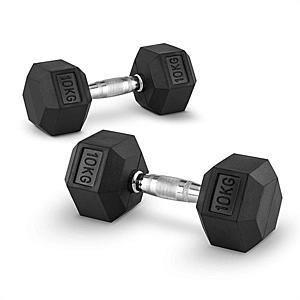 Capital Sports Hexbell 10, 10kg, kézisúlyzó pár (dumbbell) kép