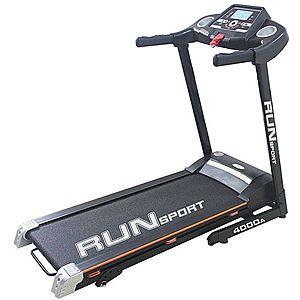 Run sport fekete kép