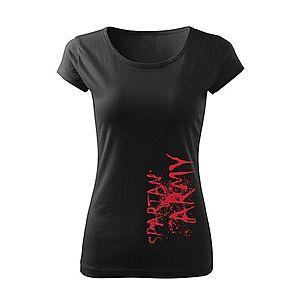 Spartan Army motívumú női rövidujjú pólók kép