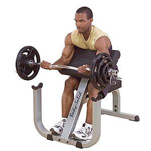 Scott pad Bicepsz erősítő gép GPCB329 kép