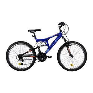 """Teleszkópos junior kerékpár DHS 2441 24"""" kép"""