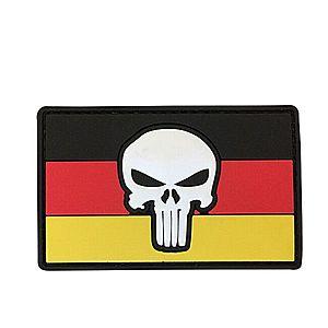 WARAGOD Tapasz 3D DE Punisher 8.5x5cm kép