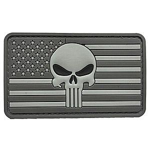 WARAGOD Tapasz 3DUS Punisher Grey 8.5x5cm kép