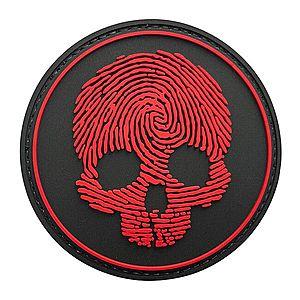WARAGOD Tapasz 3D Fingerprint Skull 8.5cm kép