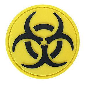 WARAGOD Tapasz 3D Round Biohazard 6cm kép