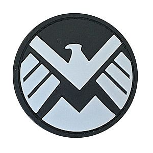 WARAGOD Tapasz 3D Round Marvel Shield 6cm kép