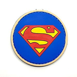 WARAGOD Tapasz 3D Superman 6cm kép