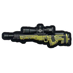 WARAGOD Tapasz AWM 3D GUN 10.3x3.5cm kép