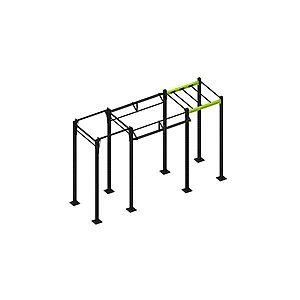 Street workout kombinált edzőállvány inSPORTline Trainning Cage 20 kép