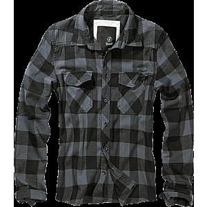 Brandit Checkshirt ing, szürke-fekete kép
