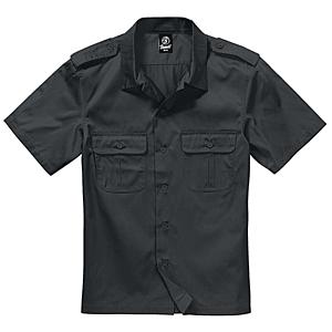 Brandit US rövid ujjú ing, fekete kép