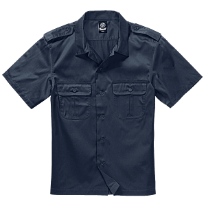 Brandit US rövid ujjú ing, navy kép