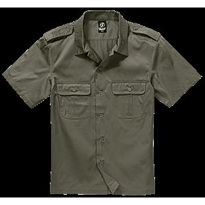 Brandit US rövid ujjú ing, olivazöld kép