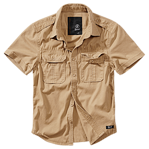 Brandit Vintage férfi ing, rövid ujjú 1/2, khaki kép