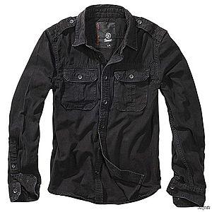 Brandit Vintage férfi ing, fekete kép