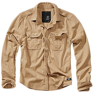 Brandit Vintage férfi ing, khaki kép