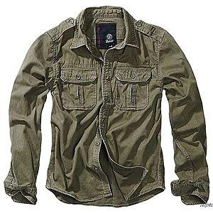 Brandit Vintage férfi ing, olivazöld kép