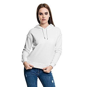 Urban Classics női pulóver kapucnis, fehér kép