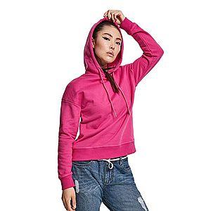 Urban Classics női pulóver kapucnis, rózsaszín kép