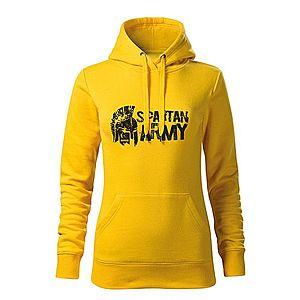 WARAGOD kapucnis női pulóver Aristón, sárga 320g / m2 kép