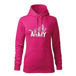 WARAGOD kapucnis női pulóver Nabis, rózsaszín 320g / m2 kép