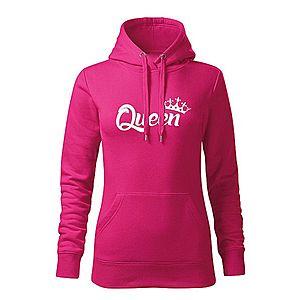WARAGOD kapucnis női pulóver queen, rózsaszín 320g / m2 kép