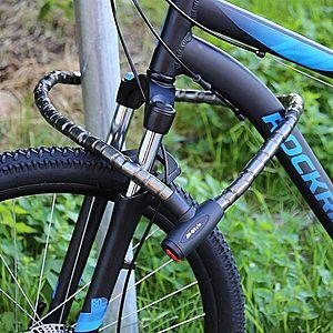 M-Style Kerékpár lakat láncos kábellel 1, 5 m kép