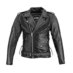 Férfi bőr motoros kabátok kép