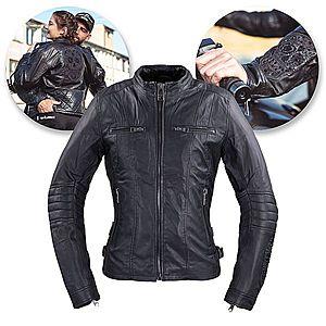 Női bőr motoros kabátok kép